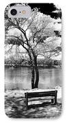 Along The River IPhone Case by John Rizzuto