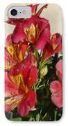 Alstroemeria In Pastel IPhone Case