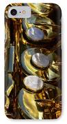 Alto Sax Reflections IPhone Case