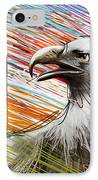 American Eagle IPhone Case by Bedros Awak