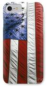 American Flag IPhone Case by Tony Cordoza