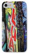 American Graffiti IPhone Case by Terry Rowe