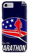 American Marathon Achieve Something Poster  IPhone Case