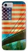 American Pride IPhone Case by Bedros Awak