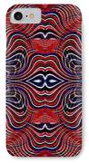 Americana Swirl Banner 4 IPhone Case