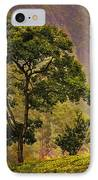 Among The Mountains And Tea Plantations. Nuwara Eliya. Sri Lanka IPhone Case