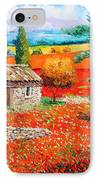 Among The Poppies IPhone Case
