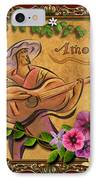 Amore - Musician Version IPhone Case by Bedros Awak