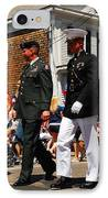 Amred Forces Salute IPhone Case by James Kirkikis