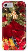 An Old Fashioned Christmas - Santa Claus IPhone Case