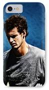 Andy Murray IPhone Case by Nishanth Gopinathan