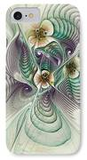 Angelic Entities IPhone Case by Deborah Benoit