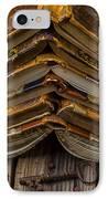 Antique Books IPhone Case