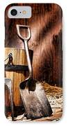 Antique Gardening Tools IPhone Case