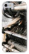 Antique Machinery IPhone Case by Barbara D Richards
