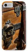 Antique Steamer Truck Detail IPhone Case