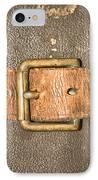 Antique Strap IPhone Case