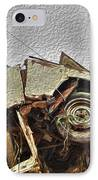 Antiques Broken IPhone Case by Crystal Harman