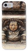 Anuradhapura Carving IPhone Case by Jane Rix