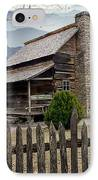Appalachian Mountain Cabin IPhone Case by Randall Nyhof