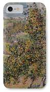 Apple Blossom IPhone Case by Claude Monet