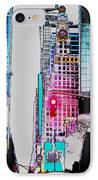 Approaching Times Square IPhone Case by Teresa Mucha