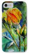 Aquarelle IPhone Case by Elise Palmigiani