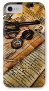 Archaeologist - Jamaican Expedition  IPhone Case by Lee Dos Santos