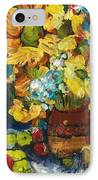 Arizona Sunflowers IPhone Case by Sherry Harradence