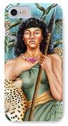 Artemis IPhone Case by Karin  Leonard
