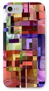 Artificial Boundaries IPhone Case by Ginny Schmidt
