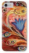 Artwork Fragment 104 IPhone Case by Elena Kotliarker