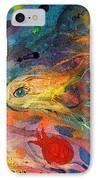 Artwork Fragment 12 IPhone Case by Elena Kotliarker