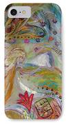 Artwork Fragment 17 IPhone Case by Elena Kotliarker