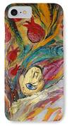 Artwork Fragment 18 IPhone Case by Elena Kotliarker