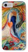 Artwork Fragment 23 IPhone Case by Elena Kotliarker