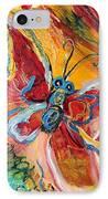 Artwork Fragment 25 IPhone Case by Elena Kotliarker