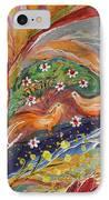 Artwork Fragment 31 IPhone Case by Elena Kotliarker