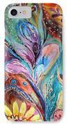 Artwork Fragment 36 IPhone Case by Elena Kotliarker