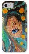Artwork Fragment 39 IPhone Case by Elena Kotliarker
