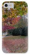 Asheville In The Fall IPhone Case by Walt  Baker