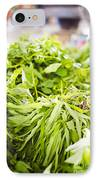 Asian Market Vegetable IPhone Case by Tuimages