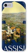 Assisi Italy IPhone Case by Georgia Fowler