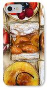 Assorted Tarts And Pastries IPhone Case by Elena Elisseeva
