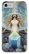 Astral Emergence IPhone Case by Morgan Mandala Manley