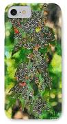 At The Valley Of Butterflies In Rhodes Island IPhone Case by George Atsametakis