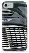 Austin-healey 3000 Grille Emblem IPhone Case by Jill Reger
