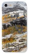 Autumn Clearning IPhone Case by Darren  White