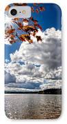 Autumn  Confidential  IPhone Case by Bob Orsillo