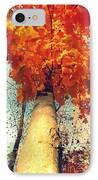 Autumn Fantasy 1 IPhone Case